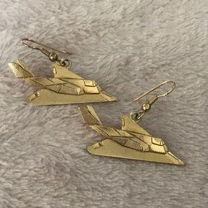Jewelry - Airplane Earrings